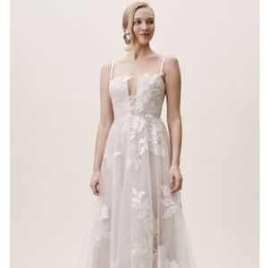 Willowby By Watters Hutchinson BHLDN wedding gown